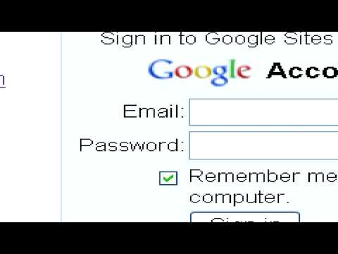 Web Site & Internet Help : How to Build a Web Site With Google