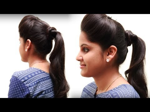 5 Different Ponytail Hairstyles for Girls | Hairstyle for Long Hair | Hairstyles Tutorial - PART1