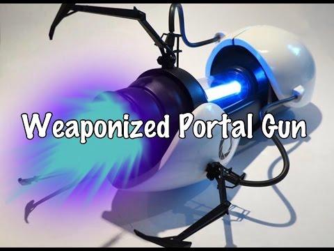 Weaponized Portal Gun(Scrapped Project)