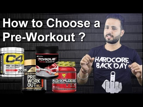 How to choose a Pre-workout supplement? | Which one is the best?