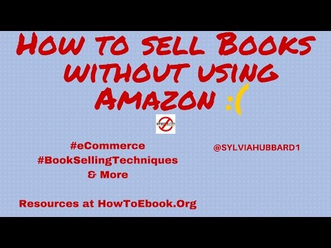 How to sell books without using#Amazon.#ecommerce #bookselling