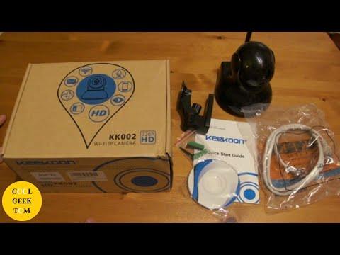 Keekoon KK002 Wi-FI IP Camera with P2PLiveCam app - Setup tutorial