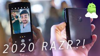 Motorola RAZR 2020: Flip phones are BACK!