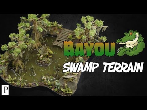 How To Make Bayou Swamp Terrain