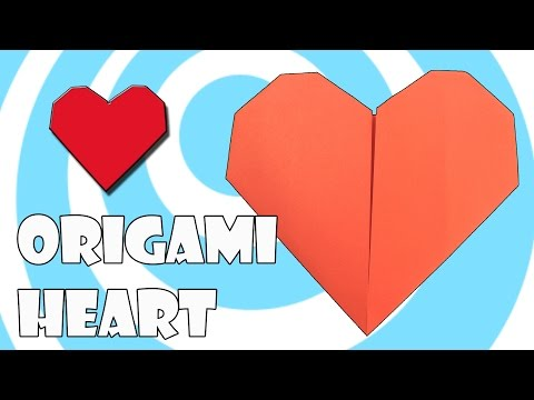 Printing Paper Origami ❤️ Heart Tutorial (Origamite)