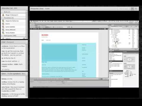 Faster Theming of Dynamic, CMS based Sites in Dreamweaver CC, with Kristin Long
