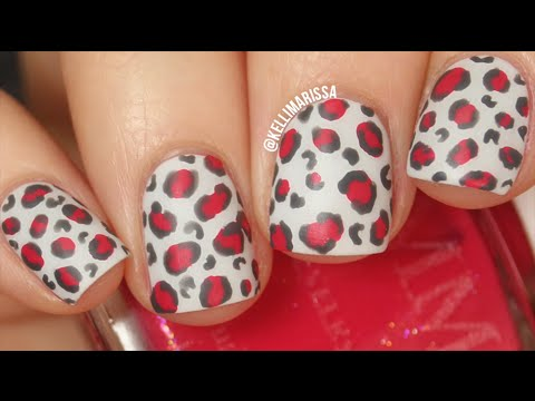 Leopard Print Nail Art DIY (using a pencil?!) || KELLI MARISSA