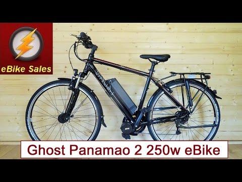 E Bike - Ghost Panamao 2 Mid-Drive 250W Commuter / Leisure eBike - Electric Bike