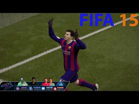 How to play like Lionel Messi ||FIFA 15|| Tips & Tricks