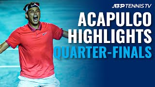 Dimitrov Sets Nadal Clash; Fritz Stops Edmund | Acapulco 2020 Quarter-Final Highlights