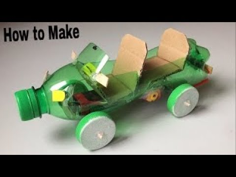 How to Make a Electric Toy Car at Home Easy! Matchbox Car Mini Car