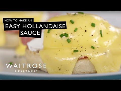 An Easy Hollandaise Sauce   Waitrose