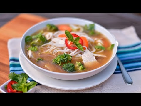 Homemade Pho Vietnamese Noodle Soup Recipe