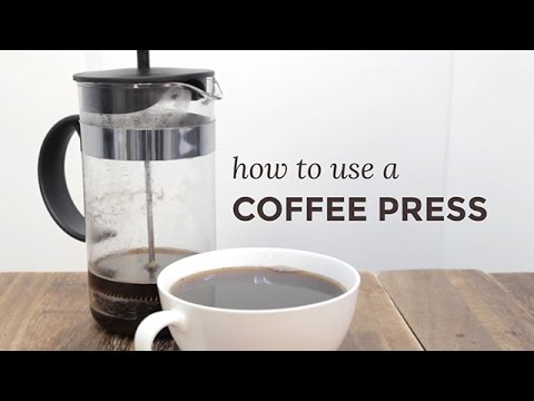 How to Use a Coffee Press | Yummy Ph