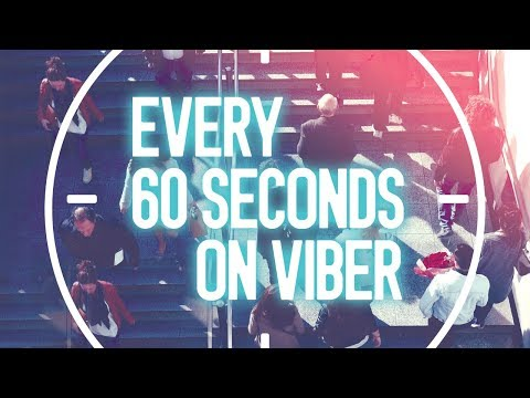 Every 60 Seconds on Viber