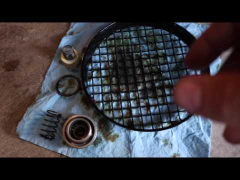 ZUMA 125 OIL CHANGE AND OIL SCREEN CLEAN