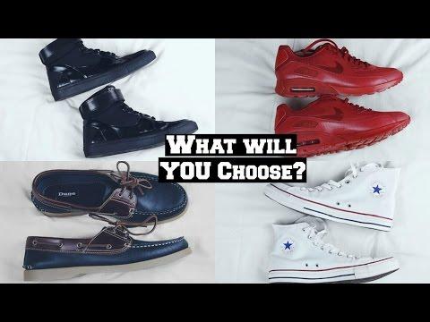 How To Style Footwear   Styling Converse & Nike Air Max - Mens Essential Footwear