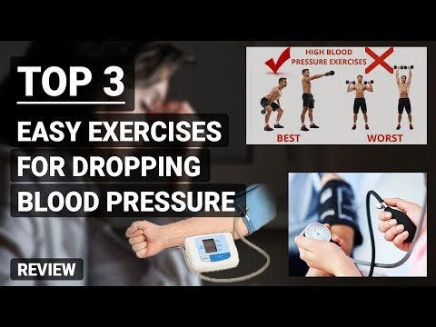 Top 3 Easy Exercises for Dropping Blood Pressure