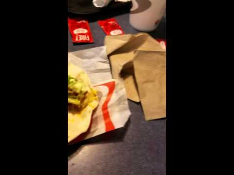 Taco Bell Spicy Cheesy Potato Taco