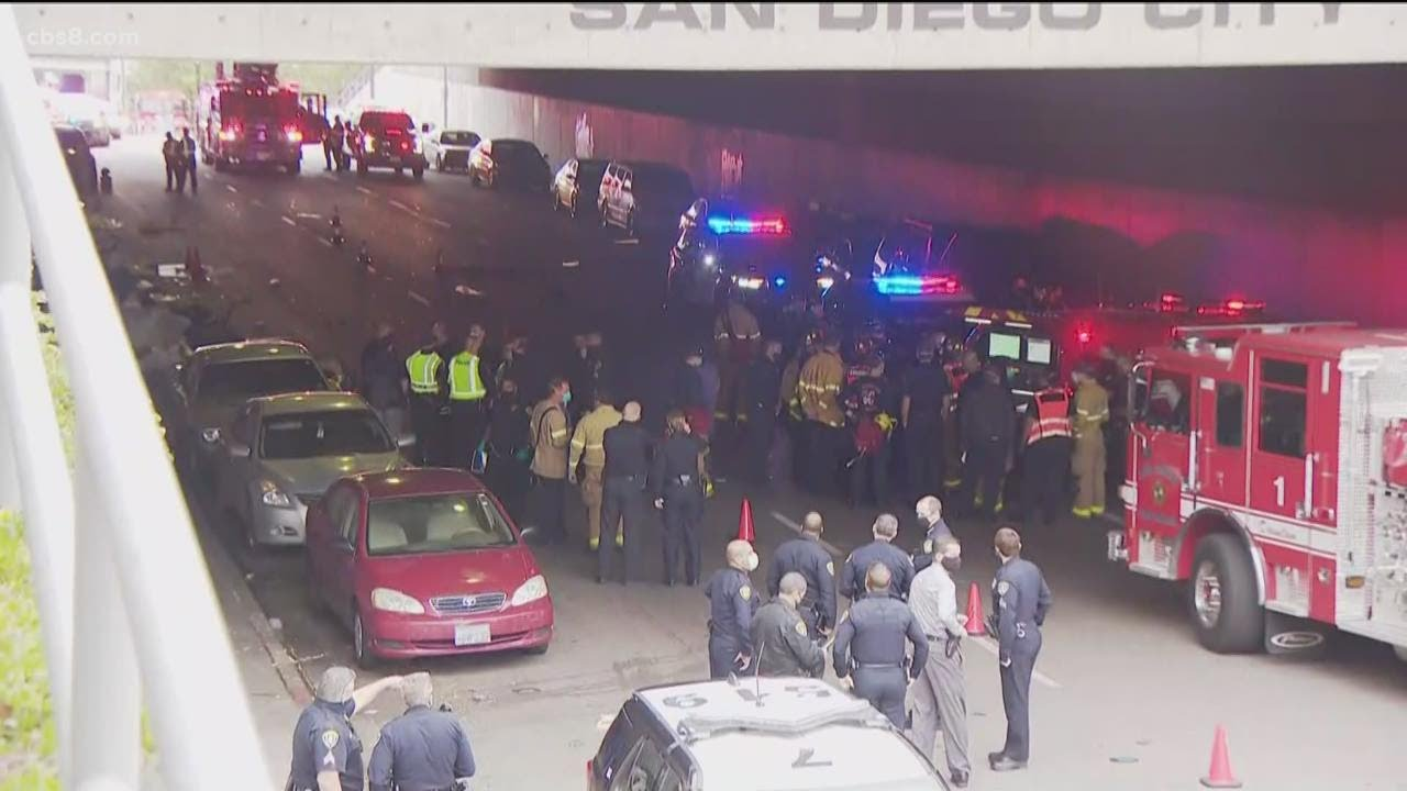 3 dead, multiple people injured after accident near San Diego City College Bridge
