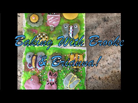 B&B Baking - Colored Easter Cookies