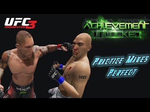 Achievement Unlocked Guides - UFC Undisputed 3  - Practice Makes Perfect