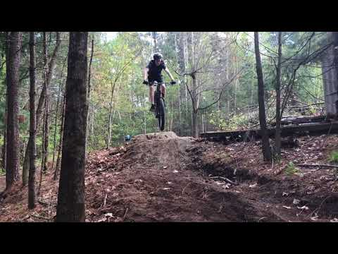 Backyard Mountain Biking