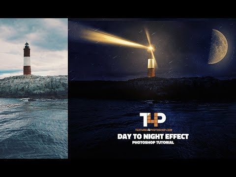 Day to Night Effect Photoshop Tutorial