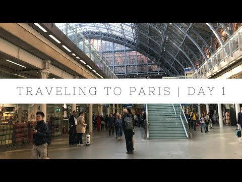 PARIS TRIP | DAY 1 (SATURDAY) | TRAVELING FROM ENGLAND TO FRANCE W/ MILS