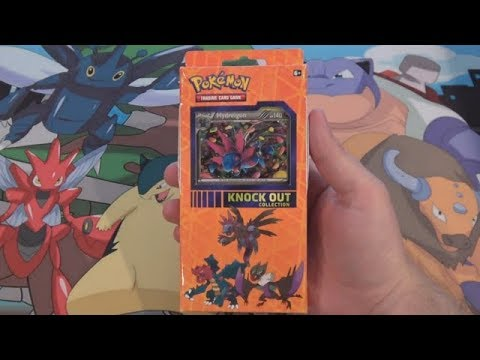 Pokemon Knock Out Collection Dragon Opening