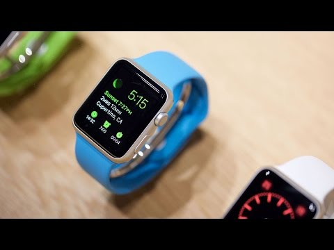 Trying on Apple's $17,000 Watch