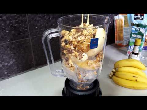 Peanut butter and banana punch