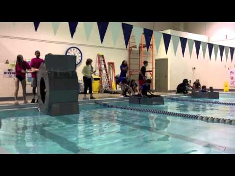 Middle School Cardboard Boat Race