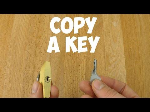 Duplicate a key