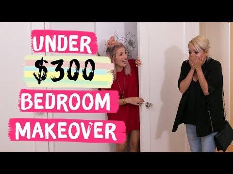 Under $300 Bedroom Makeover | Mr. Kate Decorates on a Budget