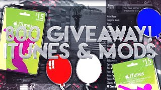 [GIVEAWAY] 2x $15 iTunes Giftcards & Modded Accounts/Lobbies BO2 PS3!