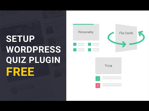 WP Quiz Free Plugin - How to Set It Up.