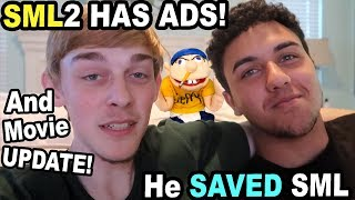MY BROTHER SAVED THE SML CHANNEL!! (HE GOT ADS)