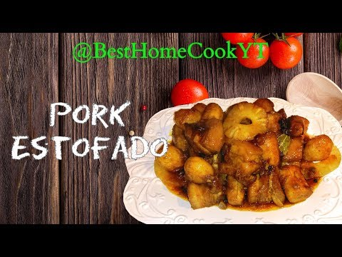 Pork Estofado | Ilonggo Estofado Recipe | Pinoy Cooking Abroad