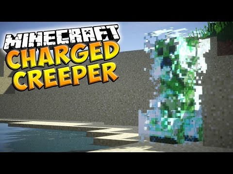 How To Spawn A Charged Creeper - Minecraft Tutorial (Minecraft 1.9)