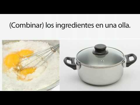 Learn Spanish 2.12 - Informal Commands in the Kitchen