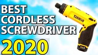 ✅ TOP 3: Best Cordless Screwdriver 2020