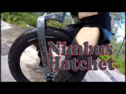 Riding a unicycle part 39: Nimbus Hatchet FAT unicycle / feit enhjuling
