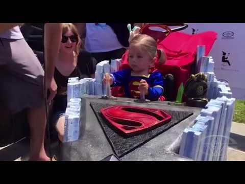 Magic Wheelchair Superheroes meet Adam Savage at Comic Con 2017