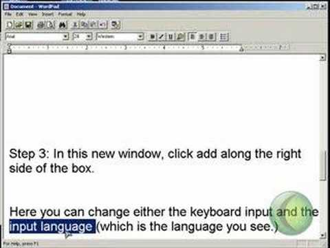 How to change your computer language