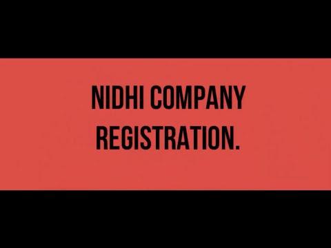 Nidhi Company Registration (Hindi)
