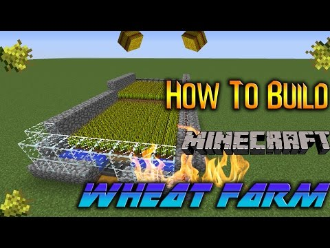 How To Build/Make An Automatic  Wheat Farm In Minecraft 1.11 (2017) (PC,PS4,XBOX)