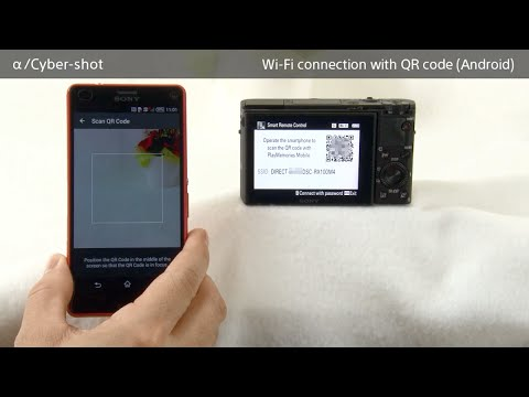 How to make a Wi-Fi connection using QR code For Android