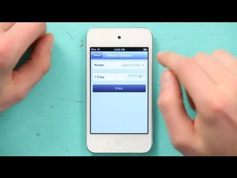 How to Print Something From an iPod Touch : iPod & iPod Touch