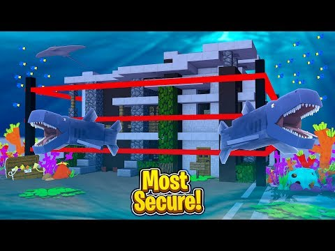 CRAZY SECURE UNDERWATER BASE CHALLENGE! CAN WE GET IN? (Secure base challenge)